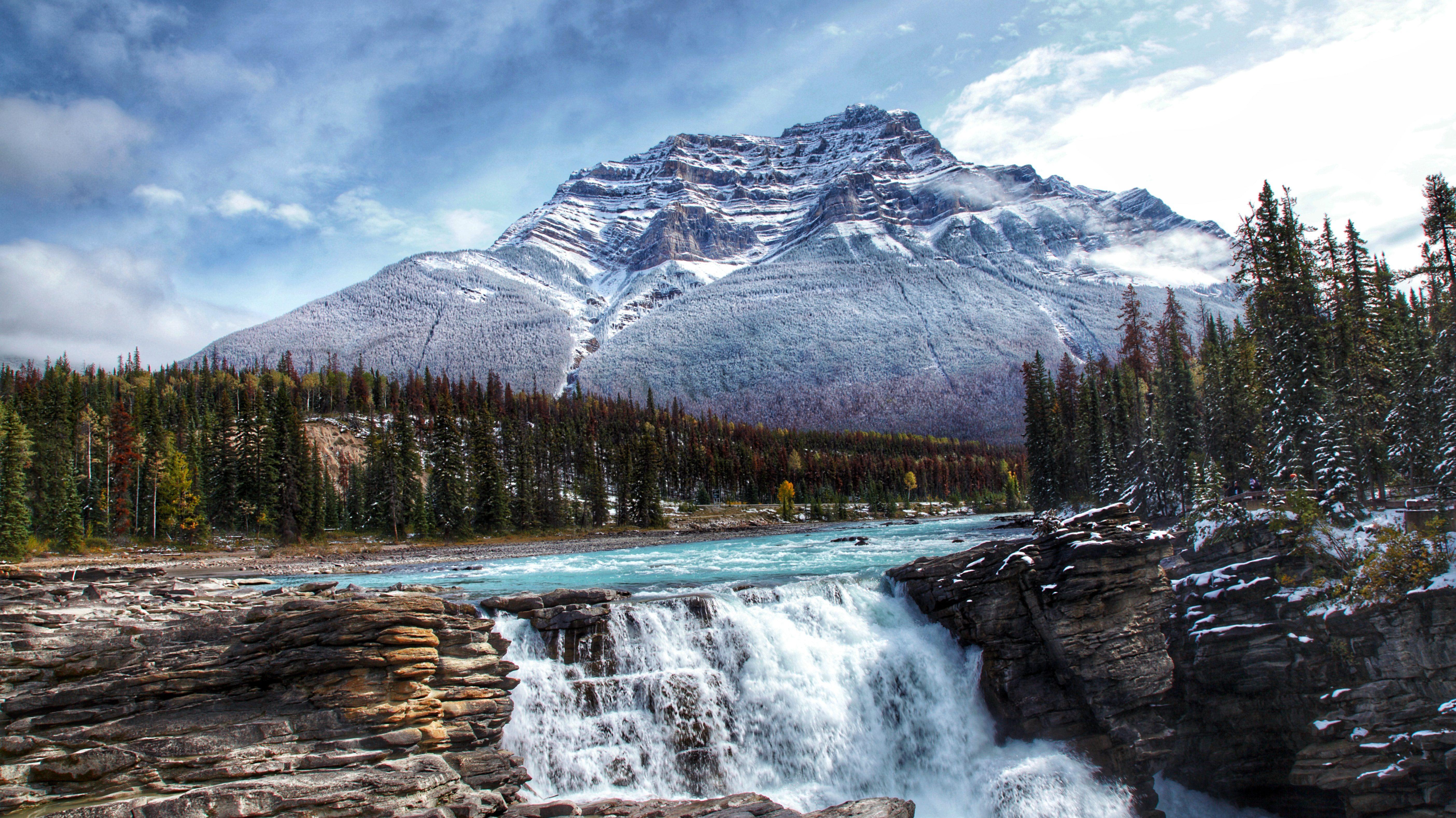 Athabasca Falls, Jasper, Canada - Rondreis Canada | US Travel
